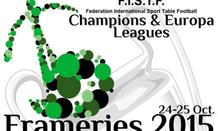 Futebol de Mesa na Liga dos Campeões Europeus