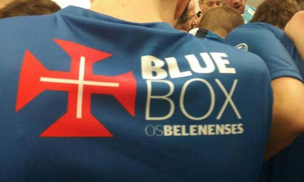 BlueBox nas camisolas da equipa de Futsal