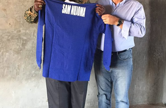 Belenenses Solidário na Namíbia