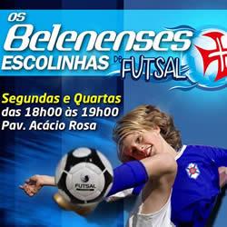 Chegaram as Escolinhas de Futsal!