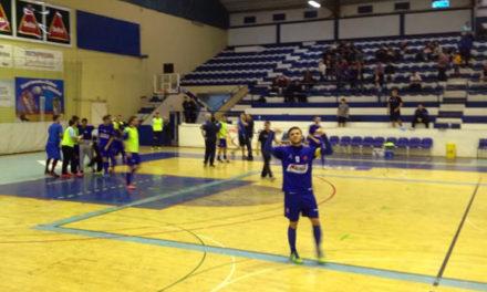 Futsal sobe ao 7º lugar após triunfo caseiro