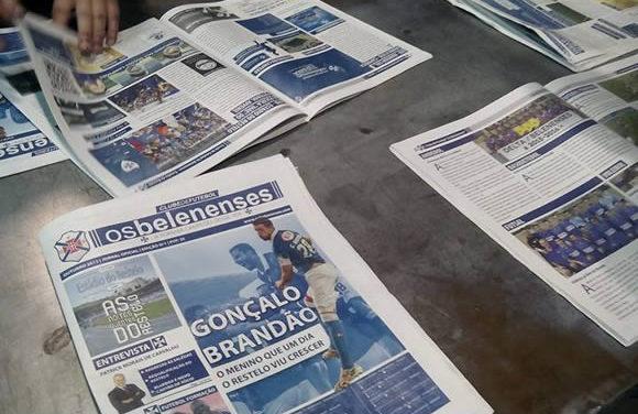 Jornal do Belenenses na Loja Azul Online