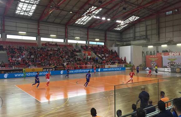 Futsal sofre derrota na Luz