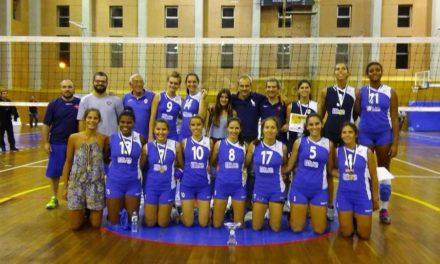 Voleibol com recepção ao PEL