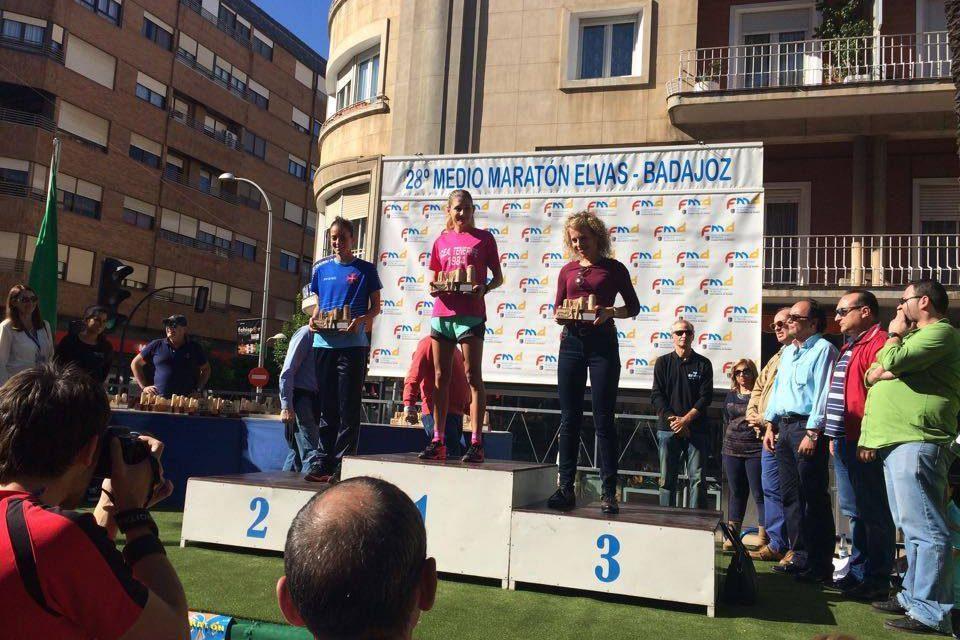 Raquel Trabuco alcança 2º lugar na Meia Maratona Elvas-Badajoz