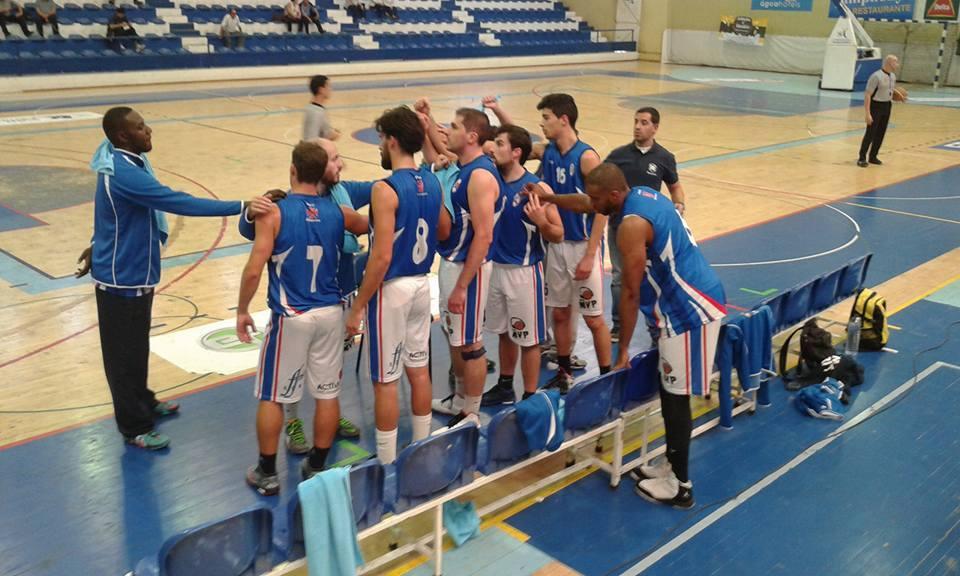 Basquetebol é derrotado, no prolongamento, pelo Terceira Basket