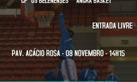 Basquetebol com recepção ao Angra Basket