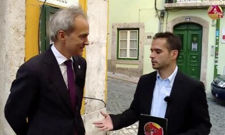 Entrevista de Patrick Morais de Carvalho à A Bola TV