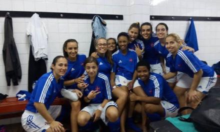 Futebol Feminino goleia na recepção ao Olímpico do Montijo