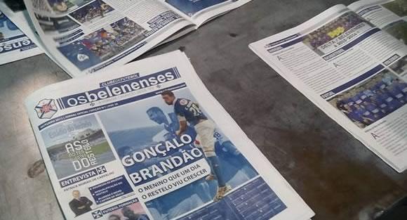 Eis o nº 2 do Jornal do Belenenses