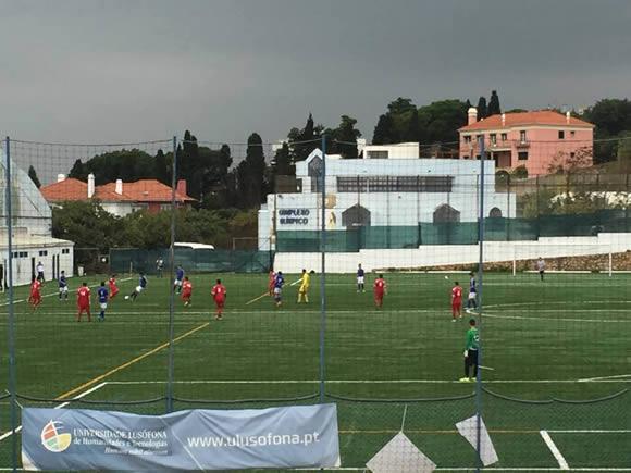 Juvenis A golearam Imortal por 9-0