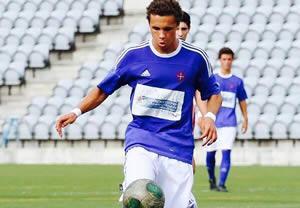 Pedro Marques na Selecção de Sub-18