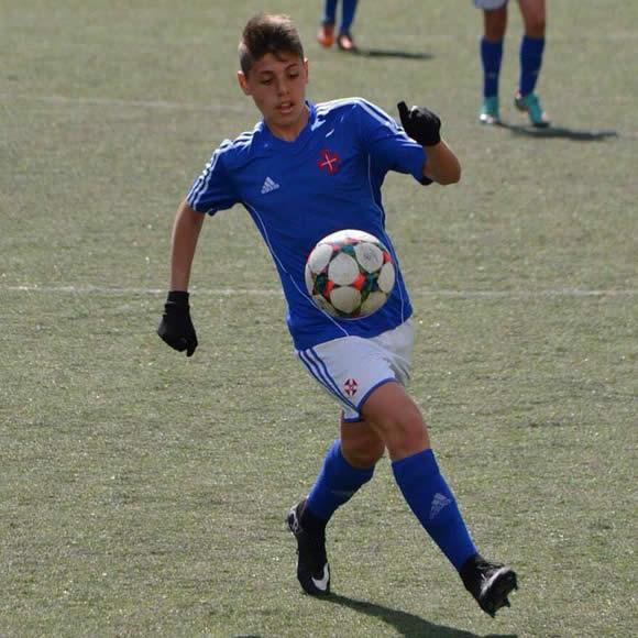 Fábio Garrido chamado à Selecção de Sub-15