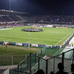 Recepção à Fiorentina é amanhã às 18h!