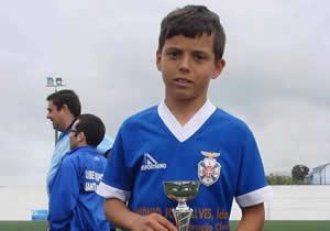 Estágio para jovem sub-11 do CD Santo António