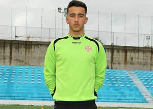 Tiago Martins na Selecção de Sub-18