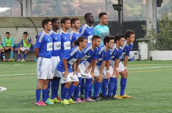 Sub-19 vencem na estreia de Gonçalo Agrelos