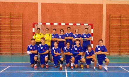Iniciados de Andebol na 2ª fase do Campeonato