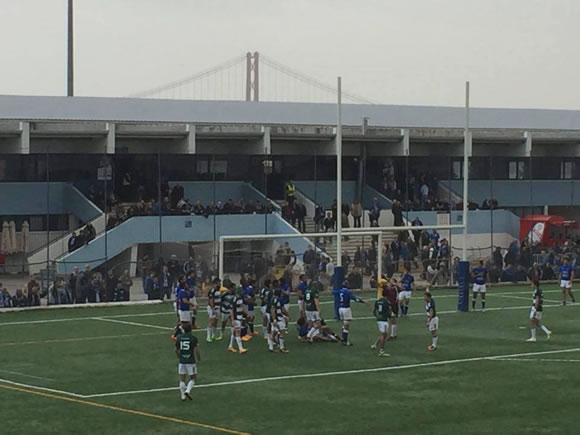 Rugby falha final da Taça de Portugal