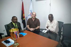 """Reunião e protocolo com """"Os Belenenses de Angola"""""""