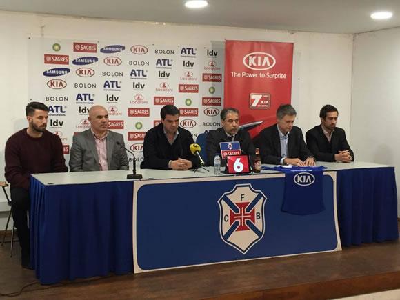 Acordo de patrocínios com a KIA Portugal