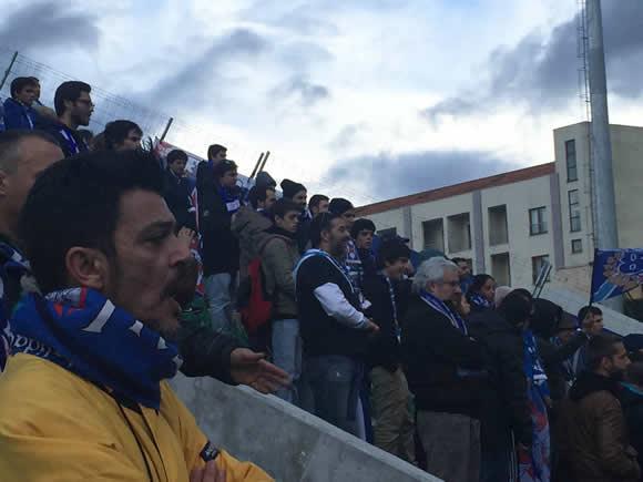 Belenenses consente empate em Tondela