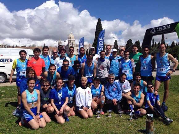 Atletismo vence Estafeta Cascais – Lisboa