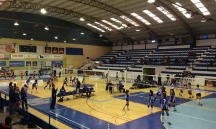 Voleibol infantil preenche o Acácio Rosa