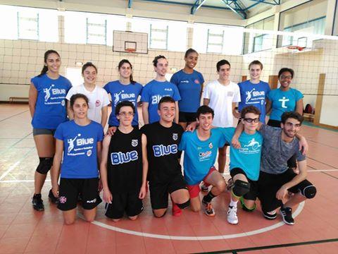 Voleibol na Escola Secundária da Amadora