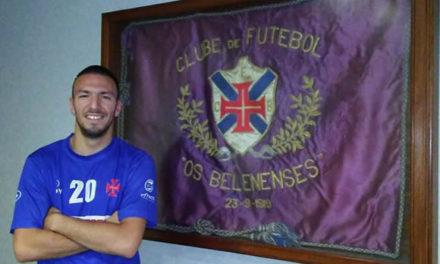Fábio reforça a equipa sénior de futsal