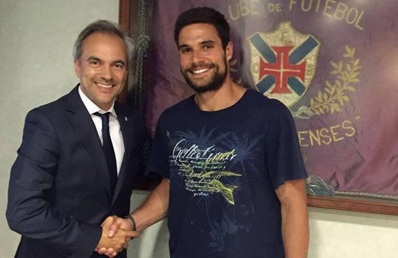 Nuno Roque é reforço para 2016/17