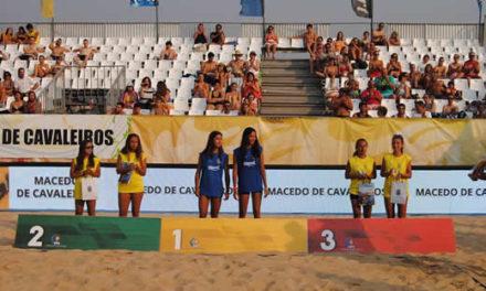 Carolina Garcez e Beatriz Rodrigues na Selecção Sub-18