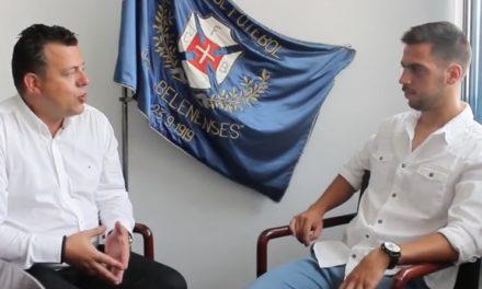 Entrevista a João Santos, técnico dos Sub-19