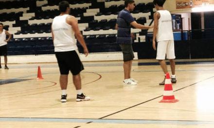 Basket voltou ao trabalho