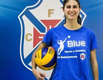 Mariana Veiga renova