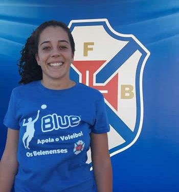 Sara Junqueira reforça equipa sénior