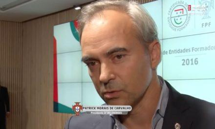 Declarações do Presidente do Belenenses sobre certificação como Entidade Formadora