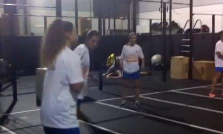 Plantel Feminino no XXI CrossFit