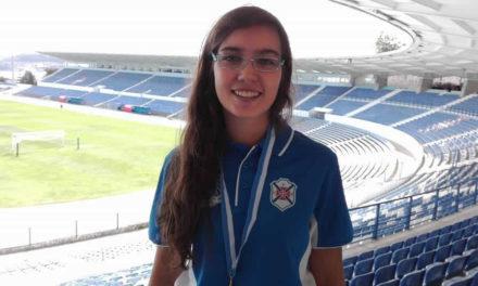 Carolina Villarigues no Campeonato Mundial