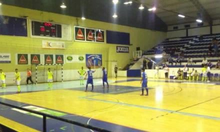Futsal cede empate