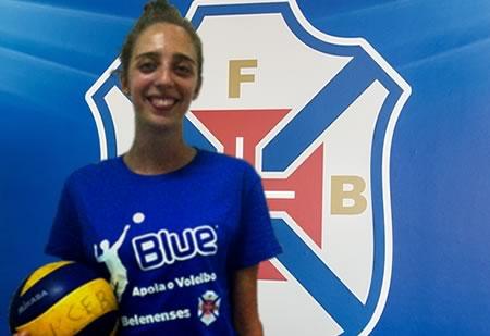 Francesca Festi é reforço no Voleibol