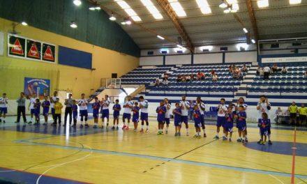 Vitória no Pavilhão Acácio Rosa
