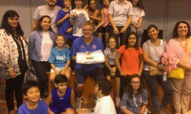 Minibasquete celebra aniversário do Clube