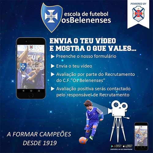 App - Escolas de Futebol