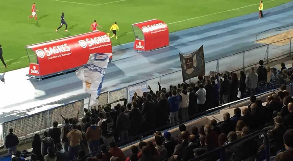 Derrota caseira perante o SL Benfica