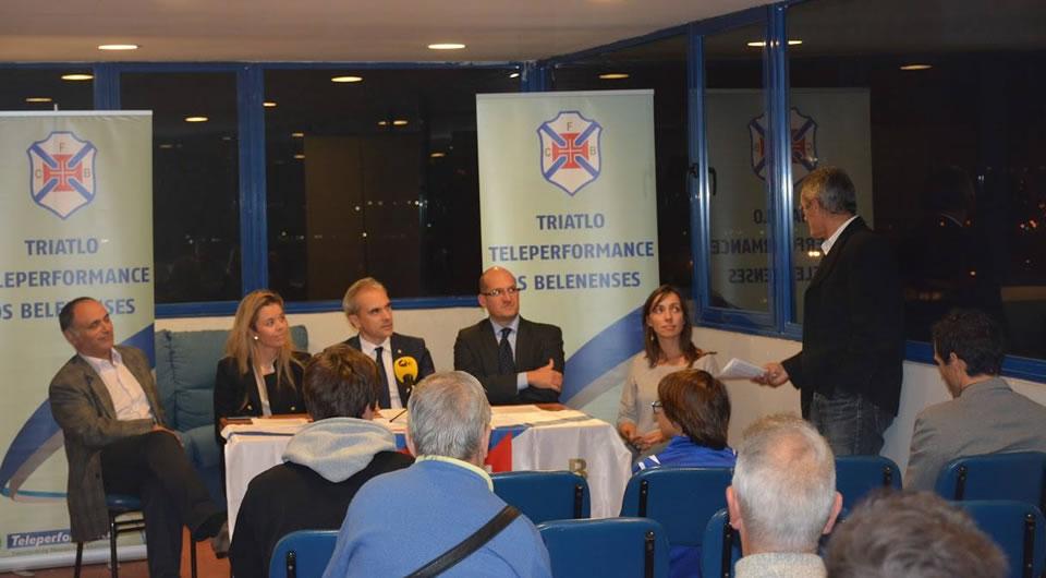 Nasceu a Escola de Triatlo Teleperformance Os Belenenses / Anaïs Moniz