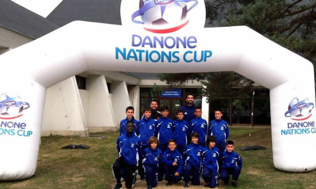 Sub-12 na Danone Nations Cup