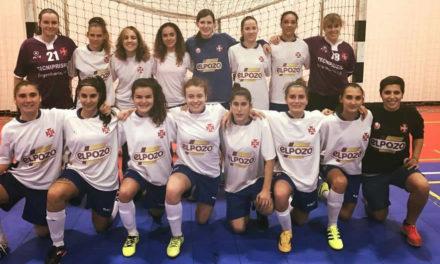 Futsal feminino segue em frente na Taça