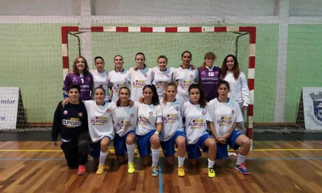 Futsal feminino continua a dar cartas