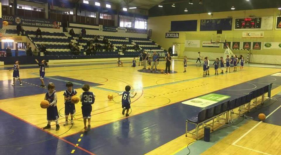 Exibição do Minibasquete nos jogos da Proliga